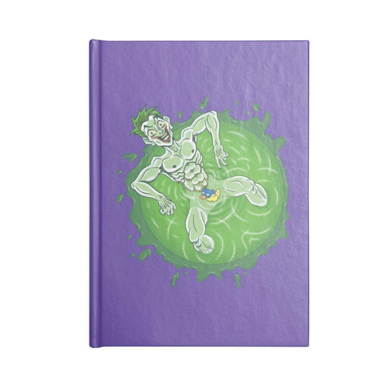 Acid Bath Accessories Notebook by Frankenstein's Artist Shop