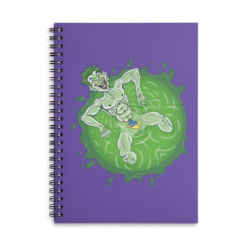 Acid Bath Accessories Lined Spiral Notebook by Frankenstein's Artist Shop