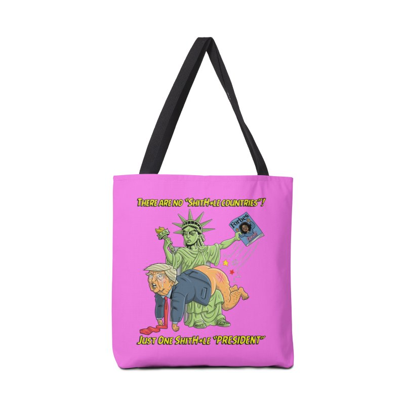 Bad SHITHOLE President! Accessories Tote Bag Bag by Frankenstein's Artist Shop