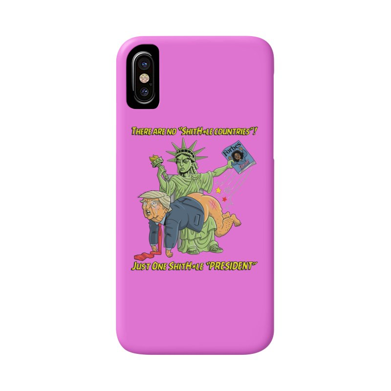 Bad SHITHOLE President! Accessories Phone Case by Frankenstein's Artist Shop
