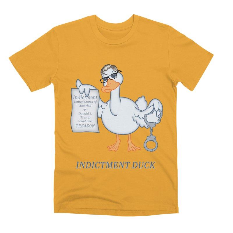 Indictment Duck Men's Premium T-Shirt by Frankenstein's Artist Shop