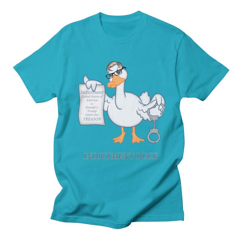 Indictment Duck Men's Regular T-Shirt by Frankenstein's Artist Shop