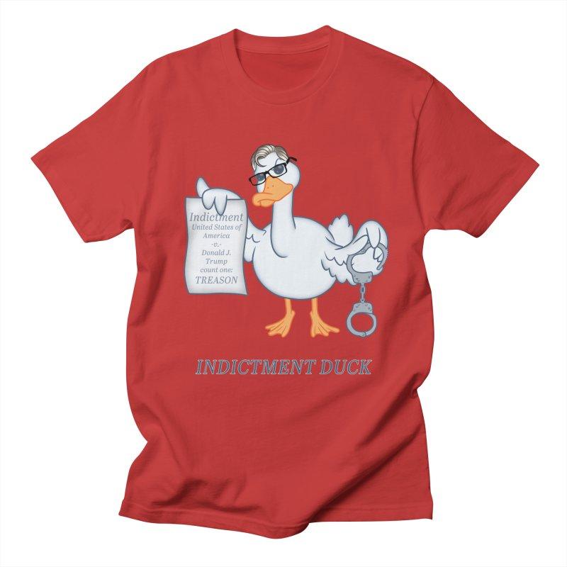 Indictment Duck Women's Regular Unisex T-Shirt by Frankenstein's Artist Shop
