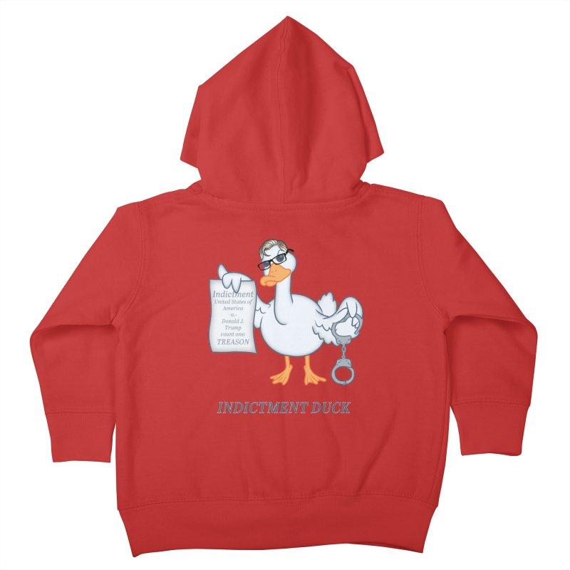 Indictment Duck Kids Toddler Zip-Up Hoody by Frankenstein's Artist Shop