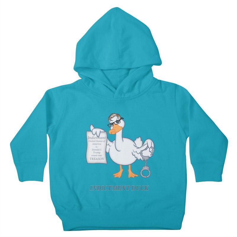 Indictment Duck Kids Toddler Pullover Hoody by Frankenstein's Artist Shop