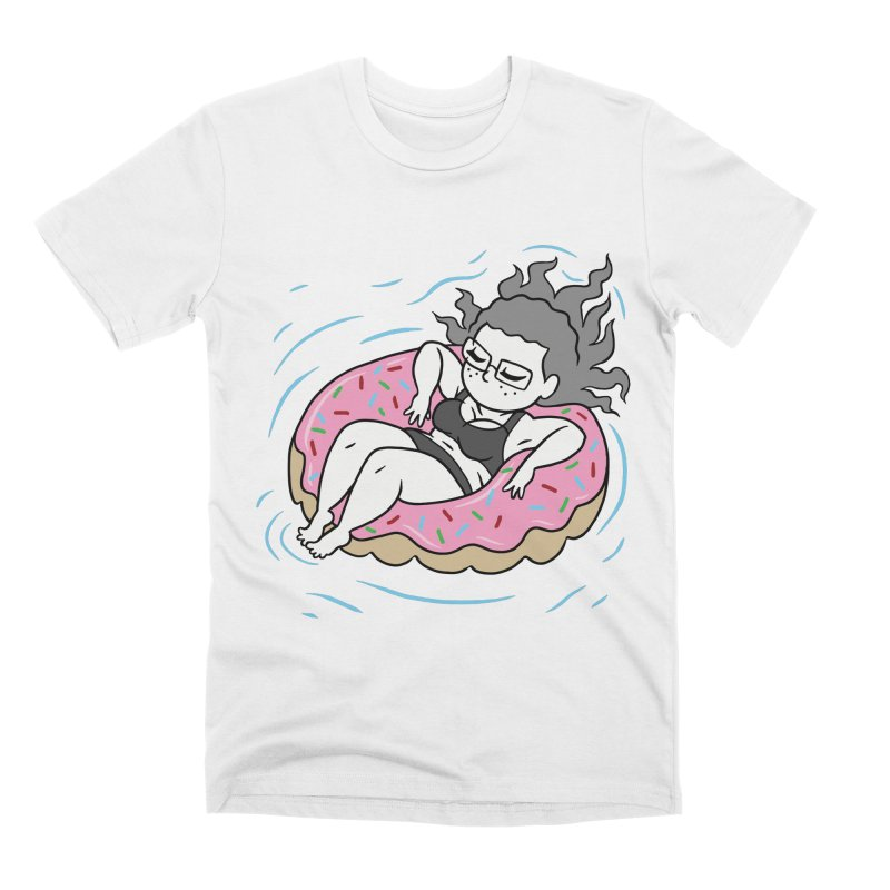 Donut Disturb! Men's Premium T-Shirt by Frankenstein's Artist Shop