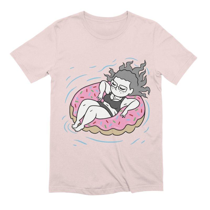 Donut Disturb! Men's Extra Soft T-Shirt by Frankenstein's Artist Shop