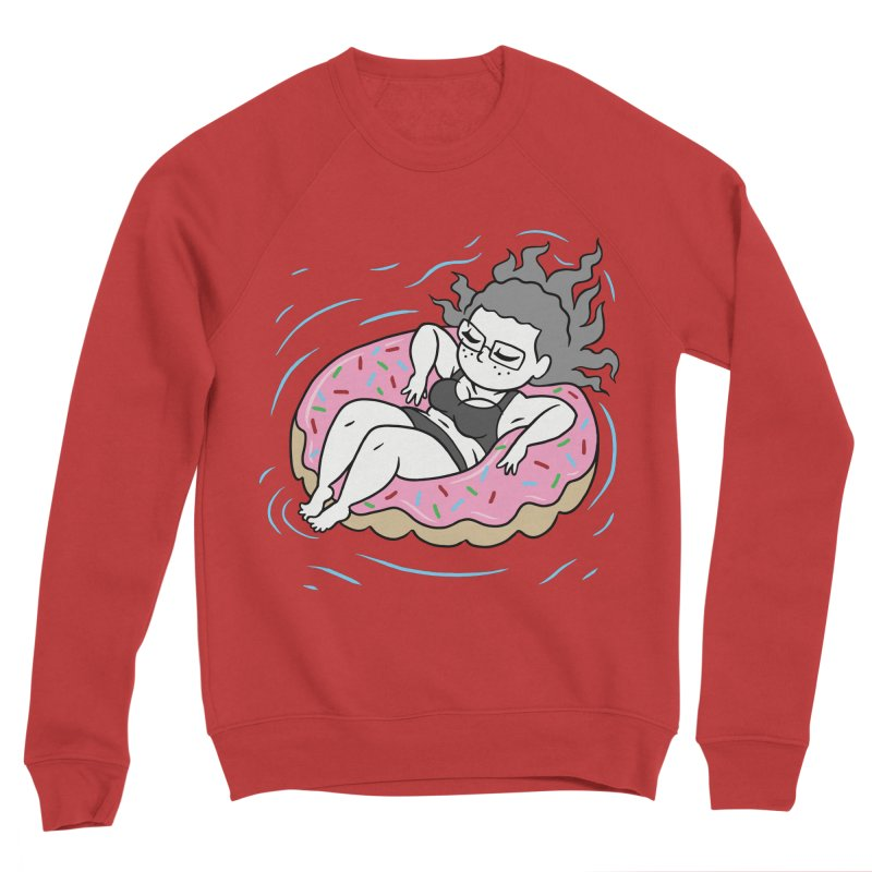 Donut Disturb! Men's Sponge Fleece Sweatshirt by Frankenstein's Artist Shop