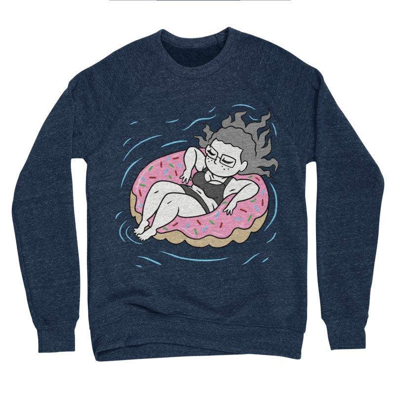 Donut Disturb! Women's Sponge Fleece Sweatshirt by Frankenstein's Artist Shop