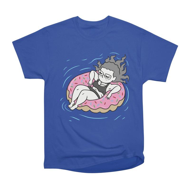 Donut Disturb! Women's Heavyweight Unisex T-Shirt by Frankenstein's Artist Shop