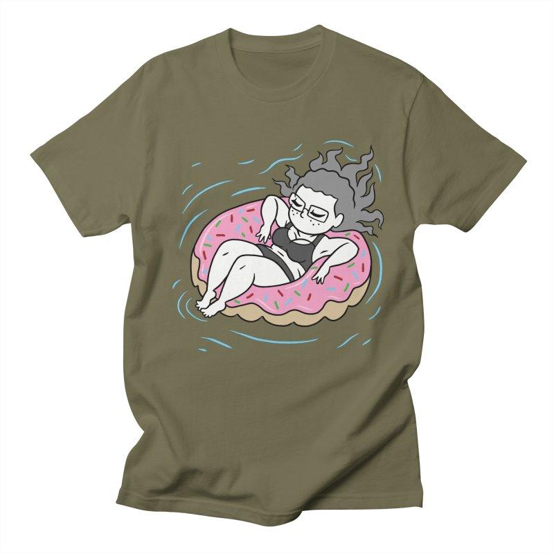 Donut Disturb! Women's Regular Unisex T-Shirt by Frankenstein's Artist Shop