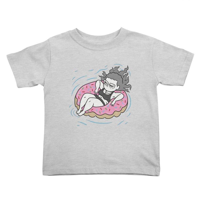 Donut Disturb! Kids Toddler T-Shirt by Frankenstein's Artist Shop