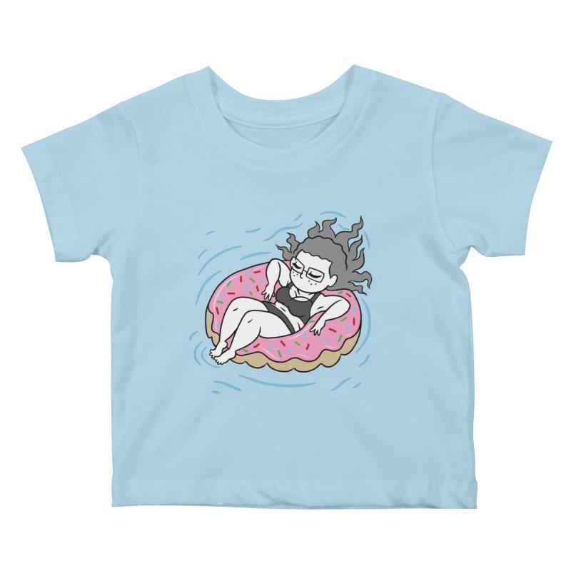 Donut Disturb! Kids Baby T-Shirt by Frankenstein's Artist Shop