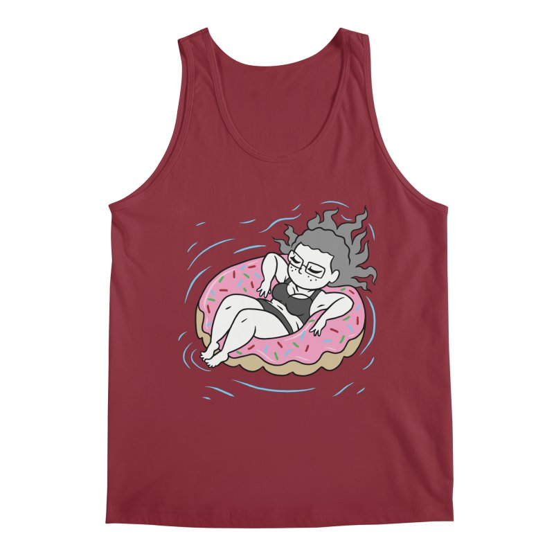 Donut Disturb! Men's Regular Tank by Frankenstein's Artist Shop