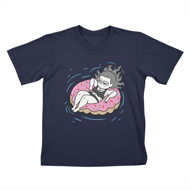 Donut Disturb! Kids T-Shirt by Frankenstein's Artist Shop