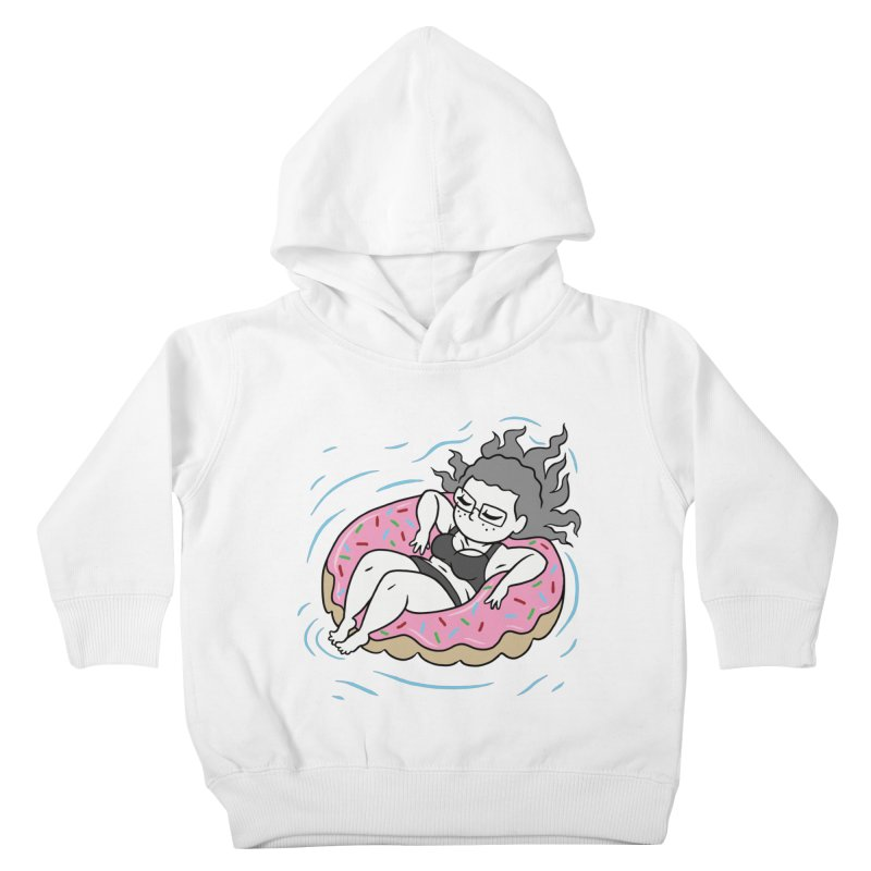 Donut Disturb! Kids Toddler Pullover Hoody by Frankenstein's Artist Shop