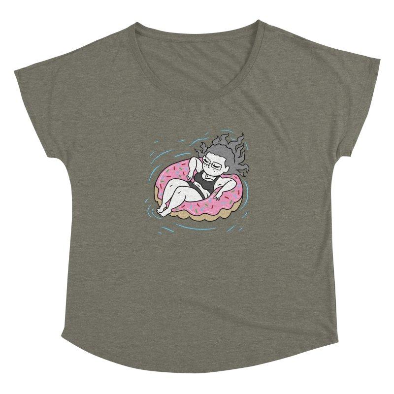 Donut Disturb! Women's Dolman Scoop Neck by Frankenstein's Artist Shop