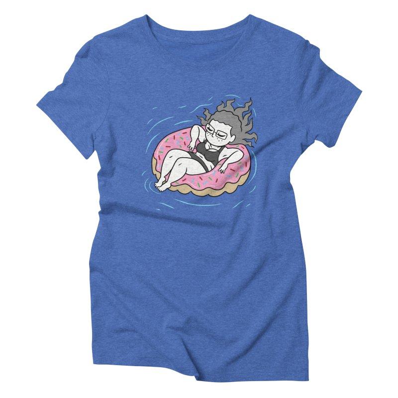Donut Disturb! Women's Triblend T-Shirt by Frankenstein's Artist Shop