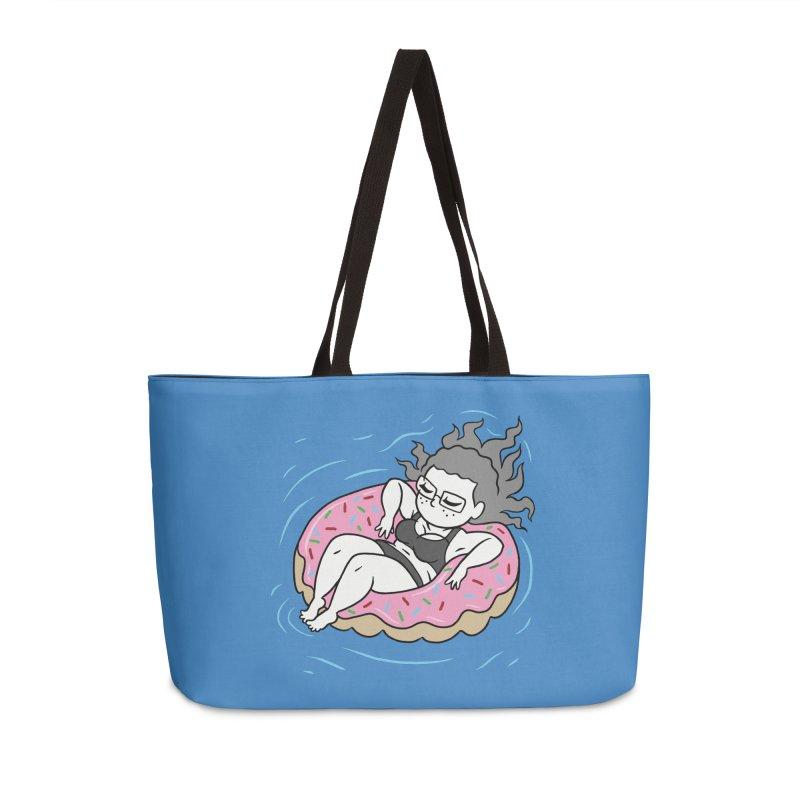 Donut Disturb! Accessories Weekender Bag Bag by Frankenstein's Artist Shop
