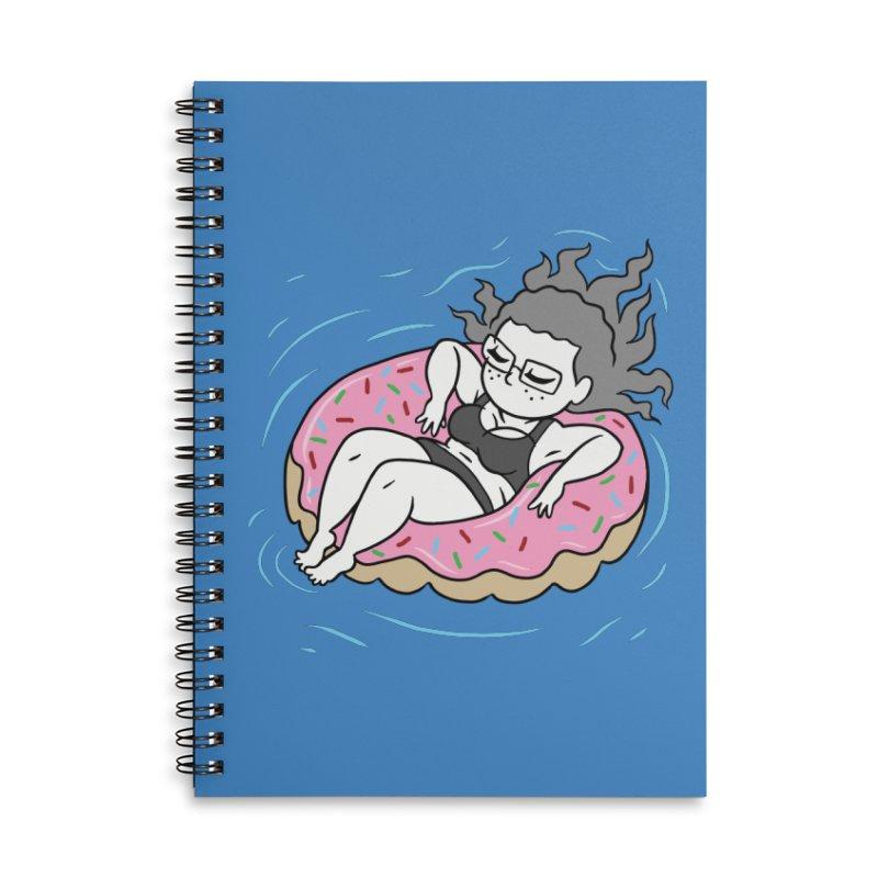 Donut Disturb! Accessories Notebook by Frankenstein's Artist Shop