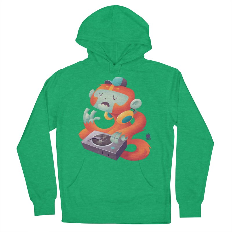 Stereo Monkey by Frankentoon Men's French Terry Pullover Hoody by Frankentoon Merchandise