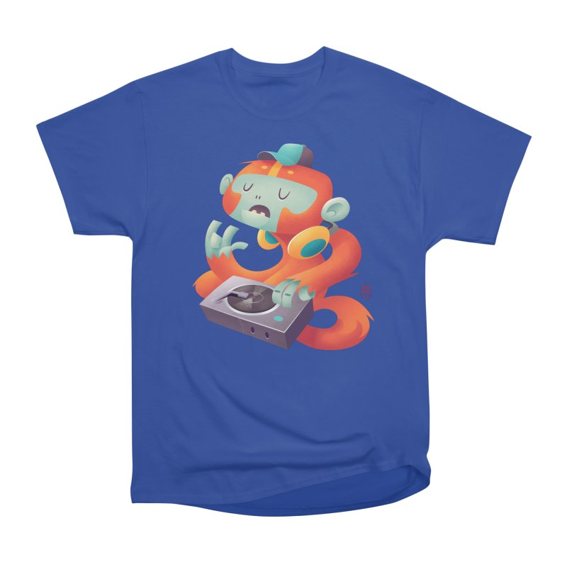 Stereo Monkey by Frankentoon Men's Heavyweight T-Shirt by Frankentoon Merchandise