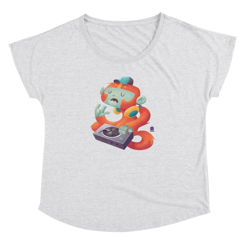 Stereo Monkey by Frankentoon Women's Dolman Scoop Neck by Frankentoon Merchandise