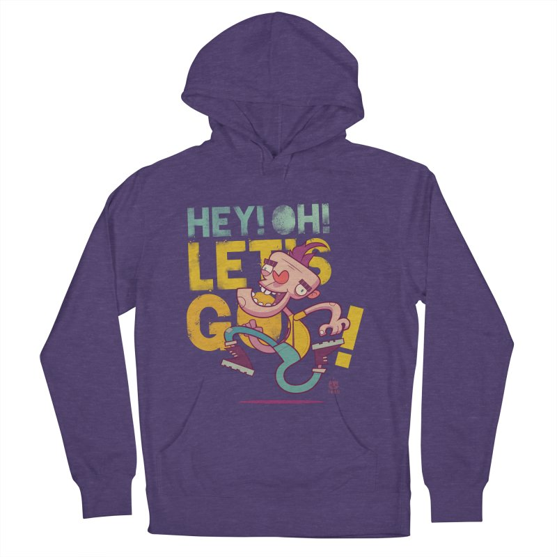 Let's Go! by Frankentoon Men's French Terry Pullover Hoody by Frankentoon Merchandise