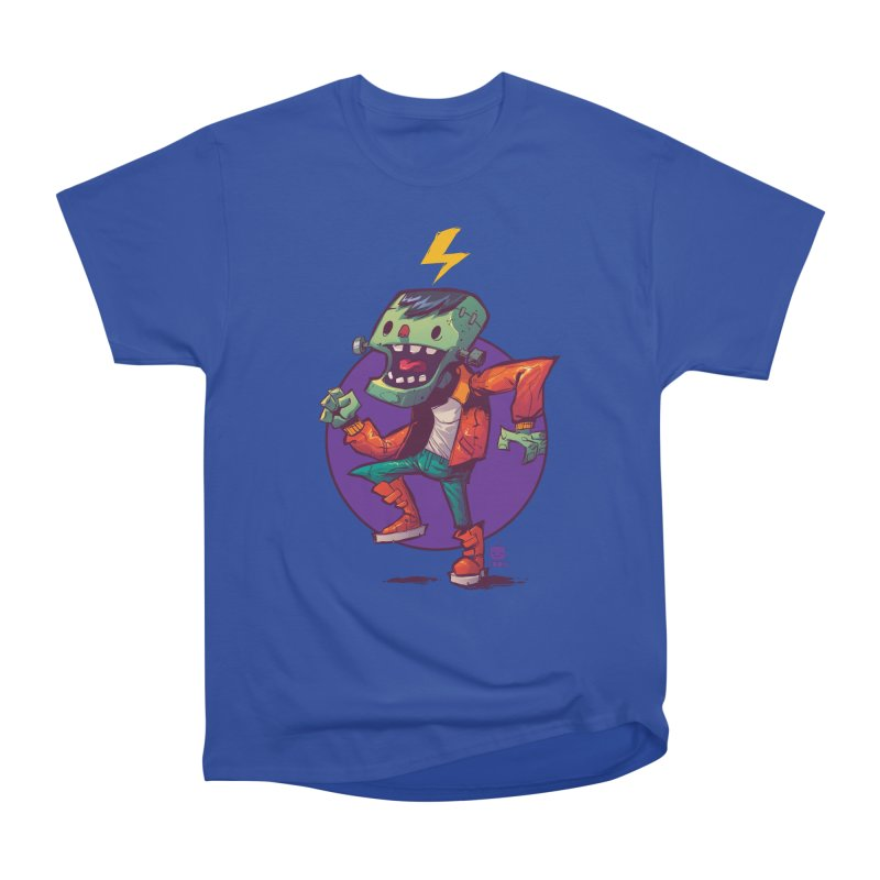 Frankie Dance by Frankentoon Men's Heavyweight T-Shirt by Frankentoon Merchandise