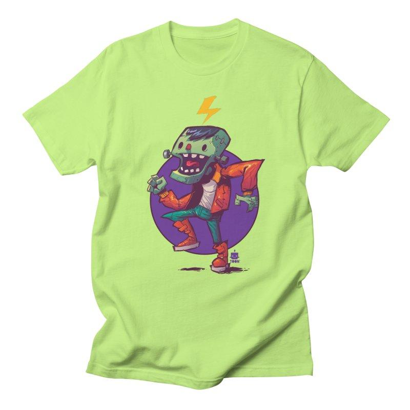 Frankie Dance by Frankentoon Men's Regular T-Shirt by Frankentoon Merchandise