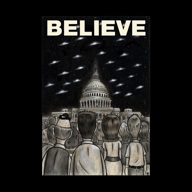 BELIEVE Saucers Over Washington by Frank Forte's Artist Shop