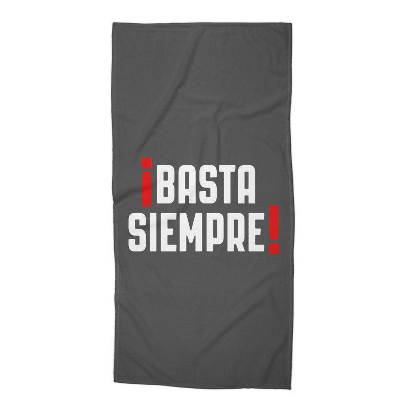 Basta Siempre! Accessories Beach Towel by Frankie hi-nrg mc & le magliette