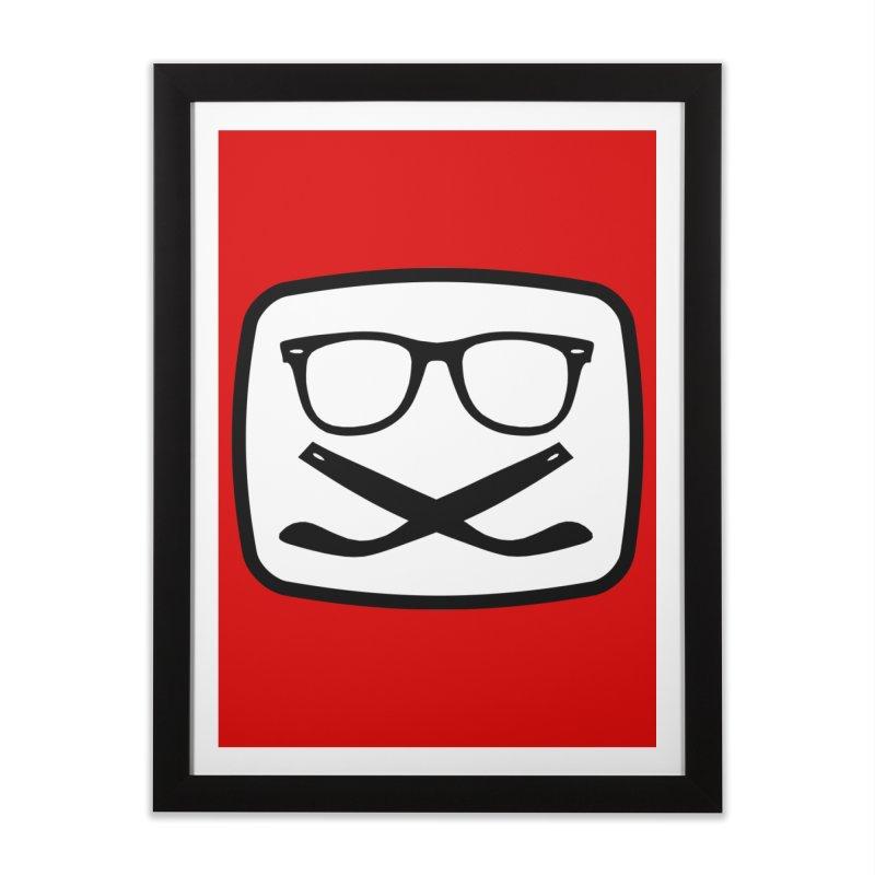 The Origginal Maglietta Home Framed Fine Art Print by Frankie hi-nrg mc & le magliette