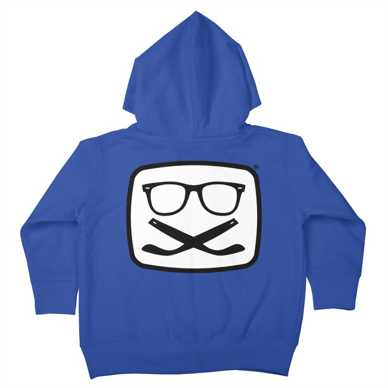 The Origginal Maglietta Kids Toddler Zip-Up Hoody by Frankie hi-nrg mc & le magliette