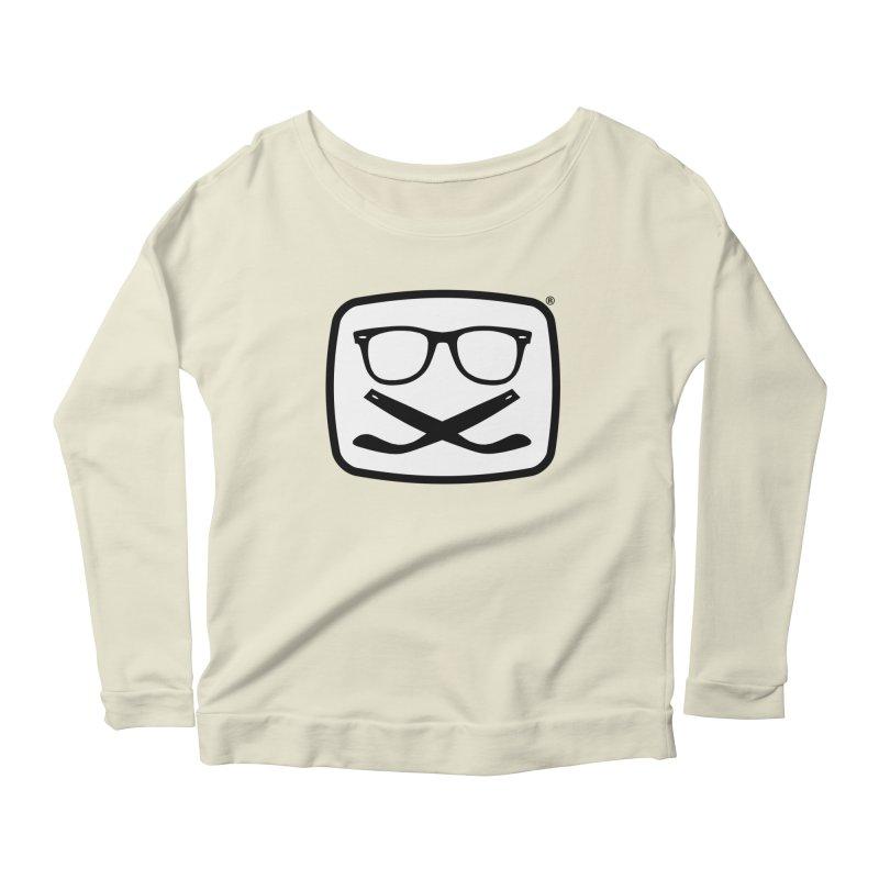 The Origginal Maglietta Women's Scoop Neck Longsleeve T-Shirt by Frankie hi-nrg mc & le magliette