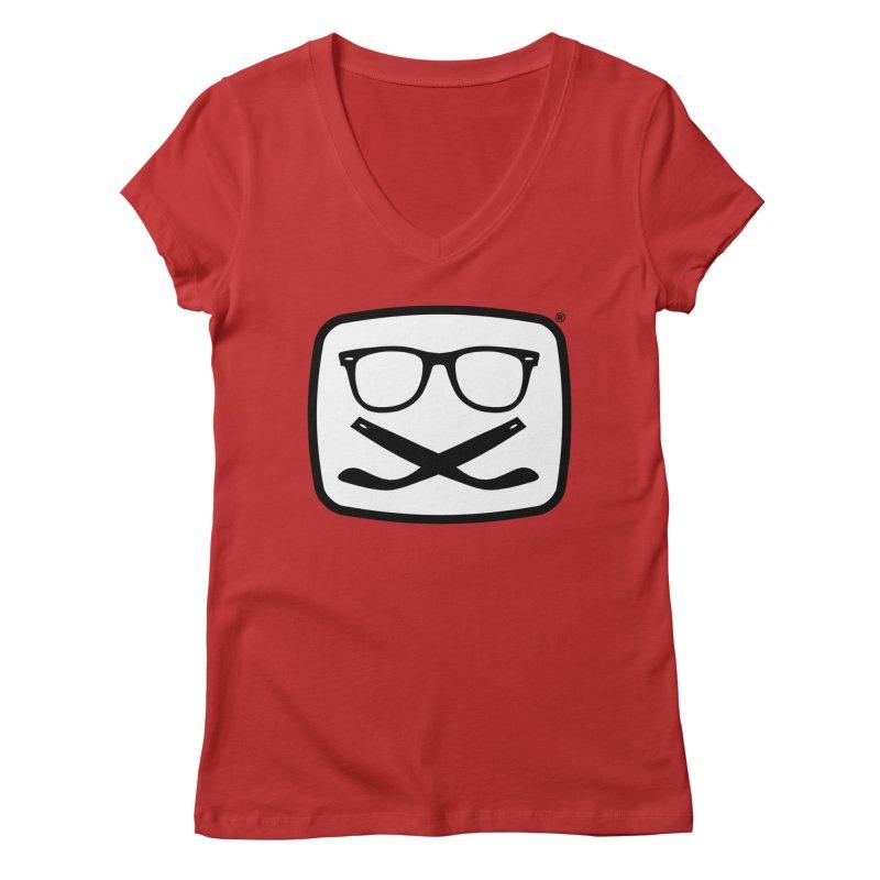 The Origginal Maglietta Women's Regular V-Neck by Frankie hi-nrg mc & le magliette