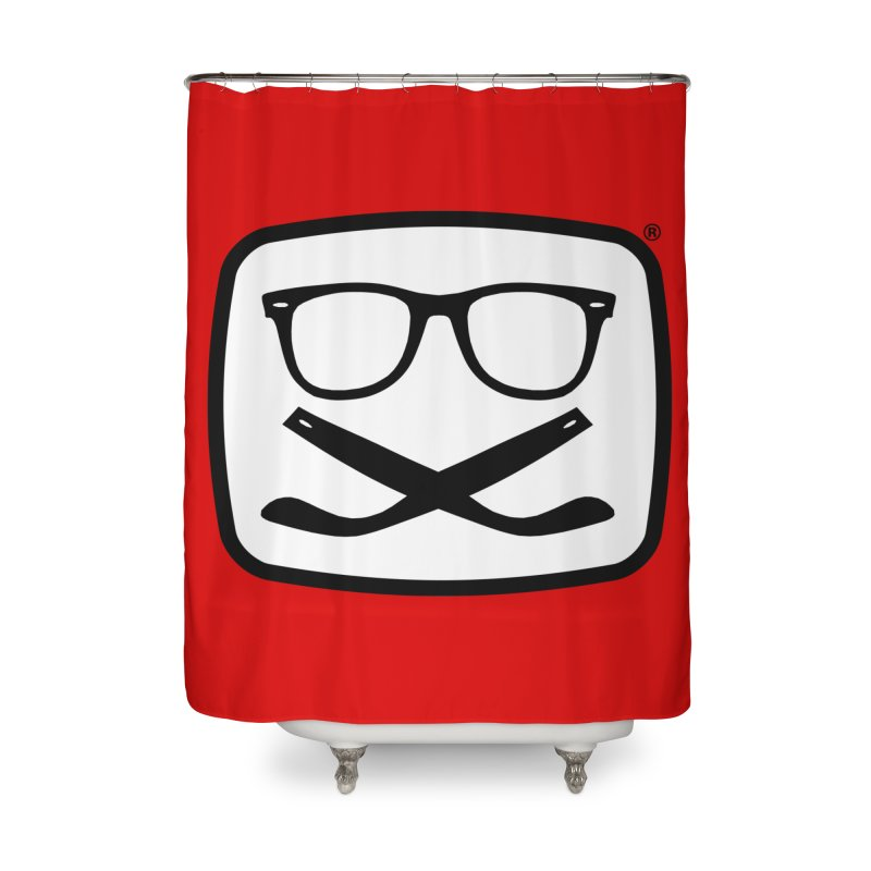 The Origginal Maglietta Home Shower Curtain by Frankie hi-nrg mc & le magliette