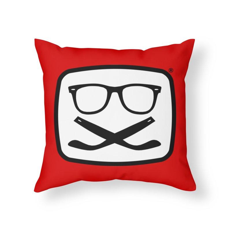The Origginal Maglietta Home Throw Pillow by Frankie hi-nrg mc & le magliette