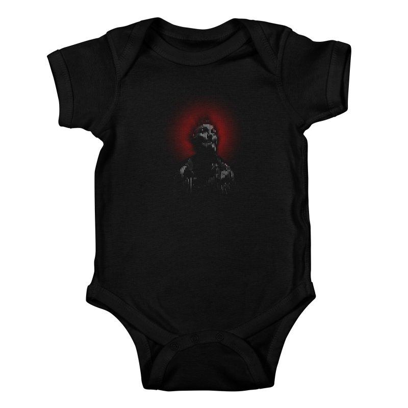 Modern Saint Kids Baby Bodysuit by Frankie hi-nrg mc & le magliette