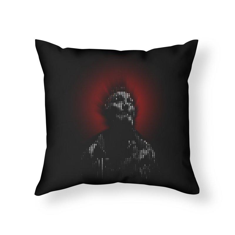 Modern Saint Home Throw Pillow by Frankie hi-nrg mc & le magliette