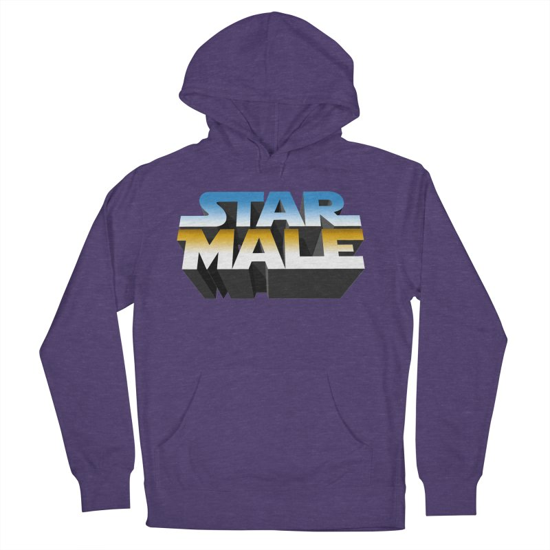 Star Male Men's Pullover Hoody by Frankie hi-nrg mc & le magliette