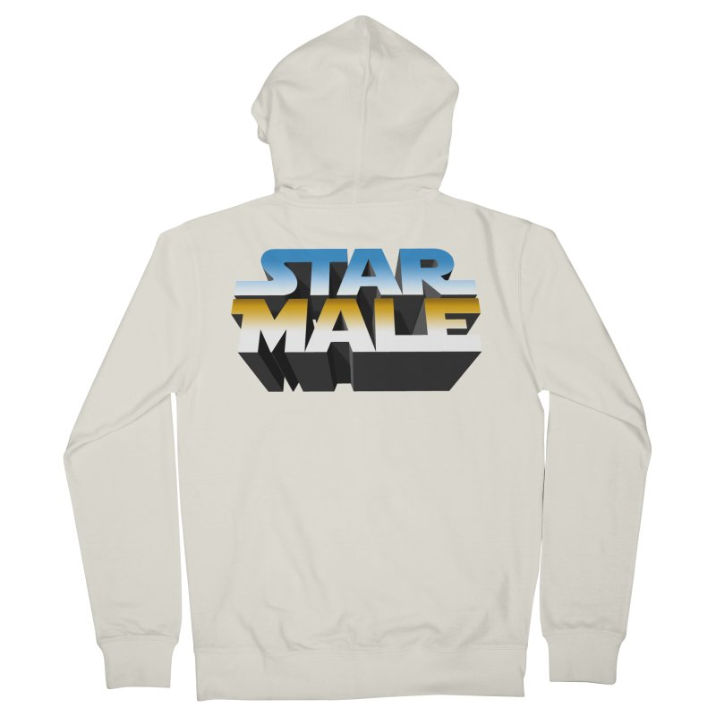Star Male Women's Zip-Up Hoody by Frankie hi-nrg mc & le magliette