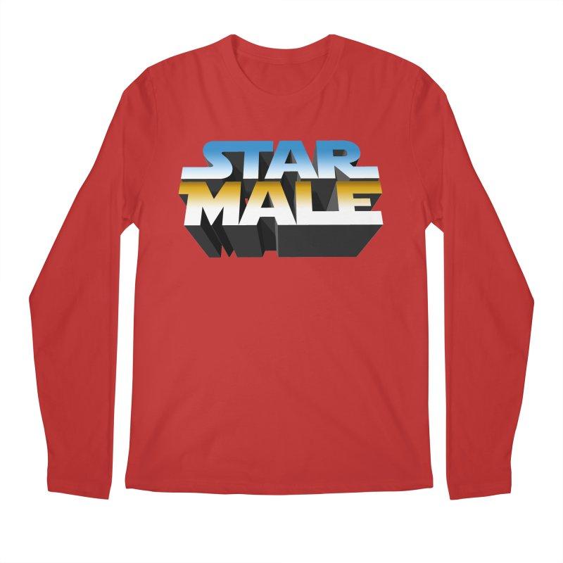 Star Male Men's Regular Longsleeve T-Shirt by Frankie hi-nrg mc & le magliette