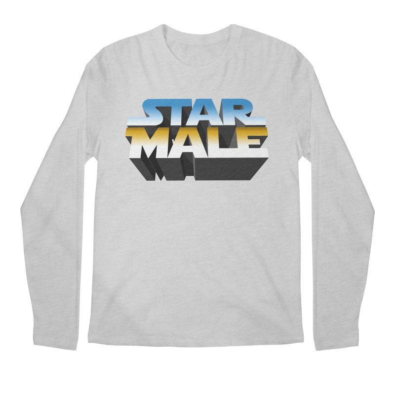 Star Male Men's Longsleeve T-Shirt by Frankie hi-nrg mc & le magliette