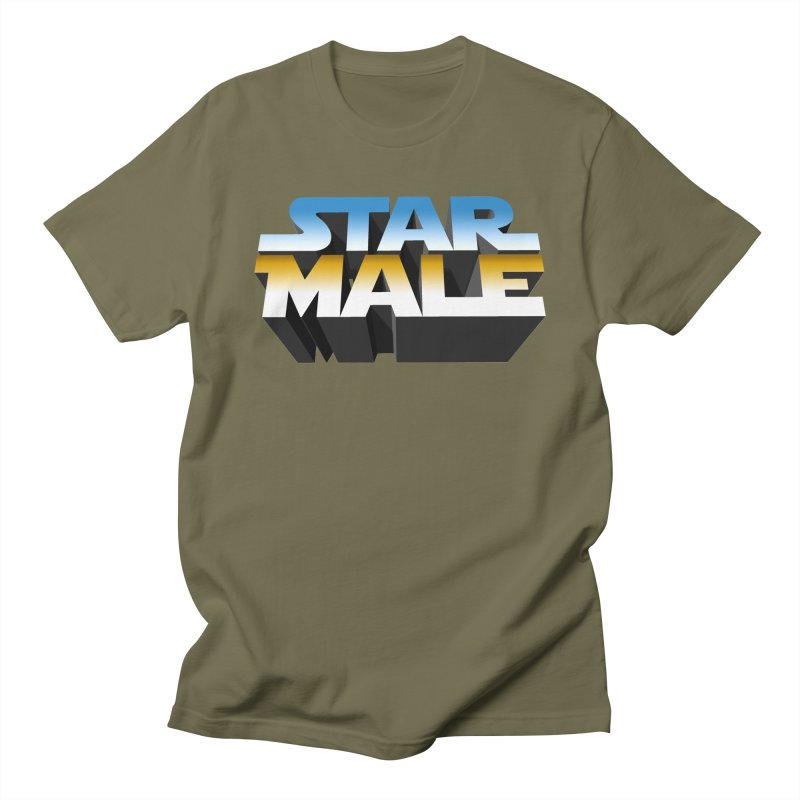 Star Male Men's Regular T-Shirt by Frankie hi-nrg mc & le magliette