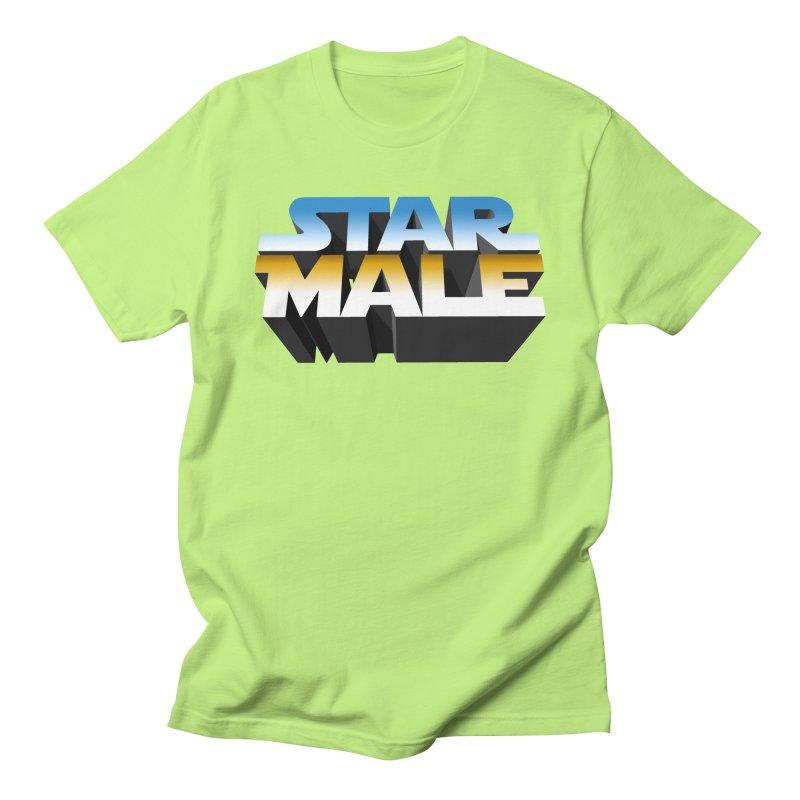 Star Male Men's T-Shirt by Frankie hi-nrg mc & le magliette