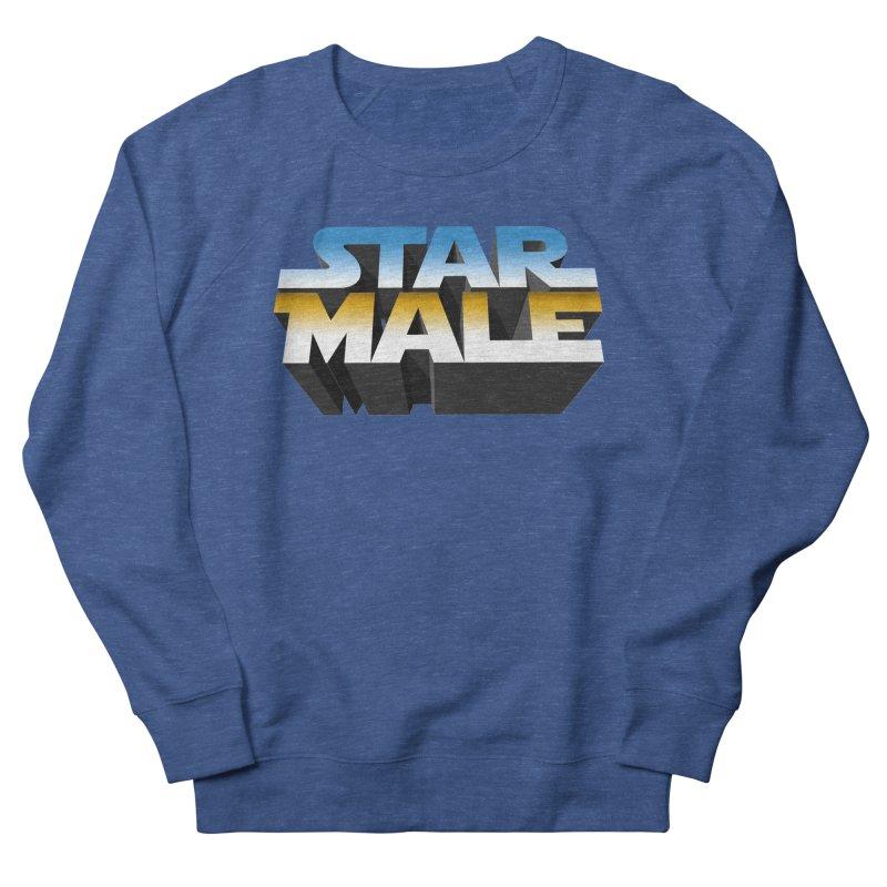 Star Male Women's French Terry Sweatshirt by Frankie hi-nrg mc & le magliette