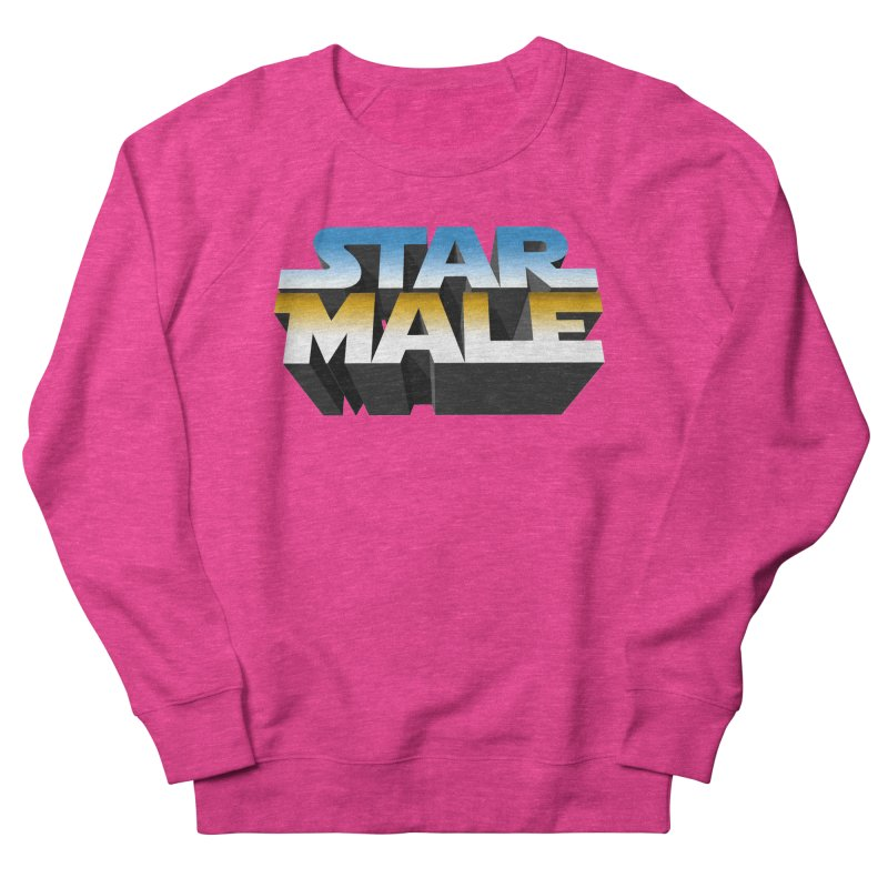 Star Male Men's French Terry Sweatshirt by Frankie hi-nrg mc & le magliette