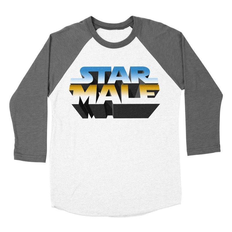 Star Male Men's Baseball Triblend T-Shirt by Frankie hi-nrg mc & le magliette
