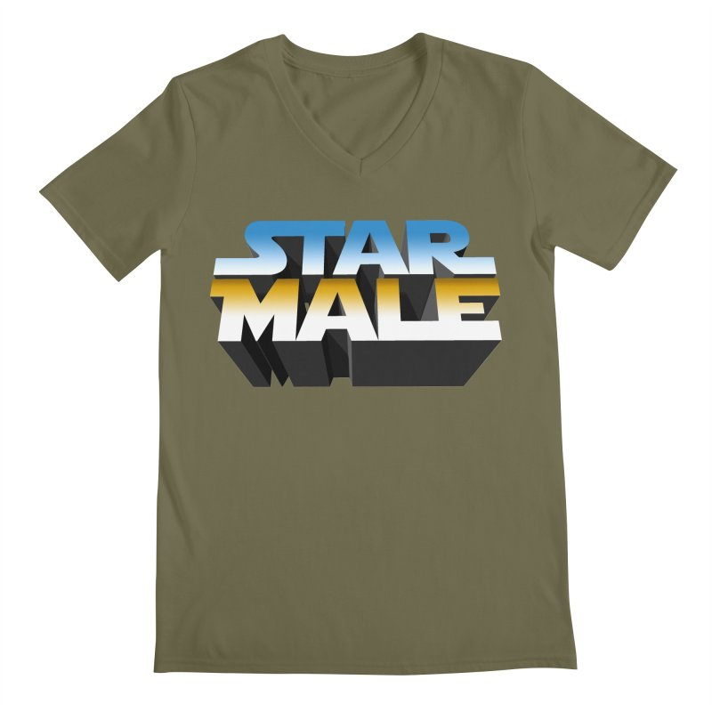 Star Male Men's V-Neck by Frankie hi-nrg mc & le magliette